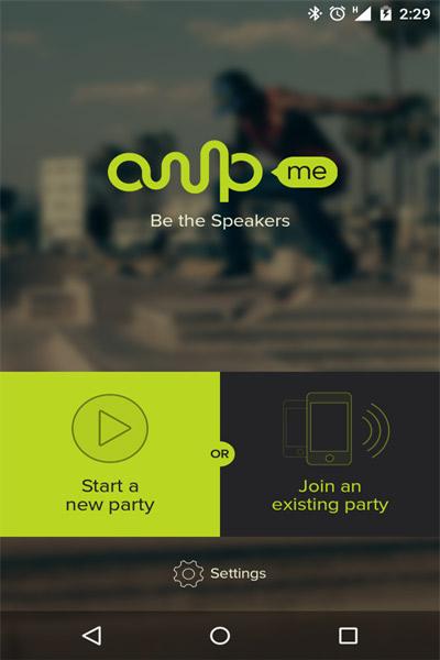 با AmpMe تلفن های هوشمند خود را به یک بلندگو قدرتمند تبدیل کنید