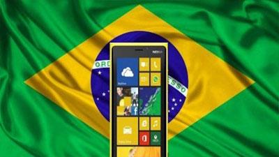 شکست iOS و پیروزی ویندوزفون در خاک برزیل