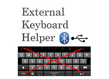 اپلیکیشن External Keyboard Helper