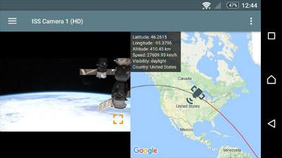 معرفی اپ ISS Live