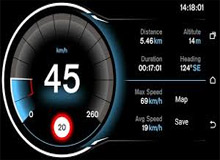 اپلیکیشن Speed View GPS